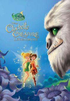 Clochette et la créature légendaire - 96 Pages, Couverture matelassée. 17 x 23,2 cm  #livre #jeunesse #Disney