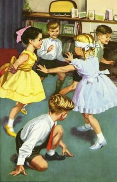 Blind Man's Buff - The Party - Ladybird Books 1960