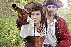 Costumes Pirate www.en-K2-couture.com Creation Couture, Cosplay, K2, Pirates, Captain Hat, Creations, Costumes, Hats, Dress Up Clothes