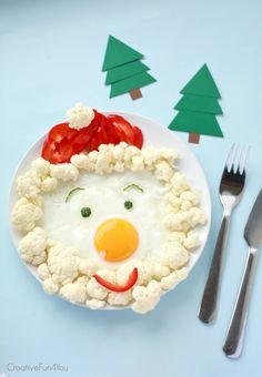 Santa-breakfast