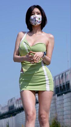 Korean Beauty Girls, Korean Girl, Asian Beauty, Girly Girl Outfits, Sexy Outfits, Beautiful Asian Women, Beautiful Celebrities, Vietnam Girl, Girls In Mini Skirts