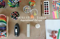 Join the creative table challenge by sharing an image of your invitation to create.