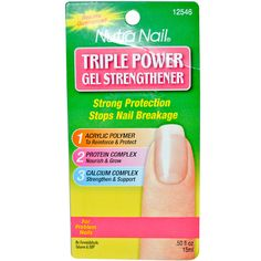 Nutra Nail, Triple Power Gel Strengthener, .50 fl oz (15 ml)