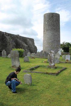 Drumlane Abbey near Milltown, County Cavan, Ireland.