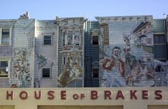 House of Brakes, Mission District, San Francisco by Laura Benbow #travel #murals #art #photos
