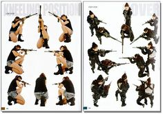 shooting poses - Google 검색
