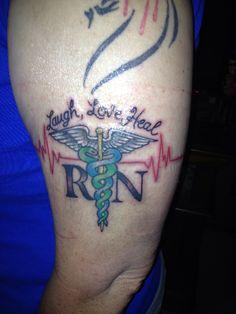 1000 ideas about caduceus tattoo on pinterest nurse tattoos - 1000 Images About Tattoo Ideas On Pinterest Rn Tattoo
