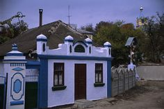 Typical exterior of Moldovan house Village Houses, Moldova, Europe, Exterior, Mansions, Architecture, House Styles, Places, Home