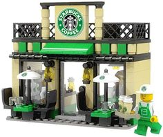 Lego Starbucks! Because we just can't get enough!