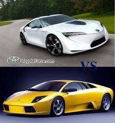 2014 Toyota Supra VS Lamborghini Murcielago