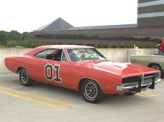 """Makes me think of my Jason...he LOVED this show! 1969 Dodge Charger General Lee from """"THE DUKES OF HAZZARD""""!"""