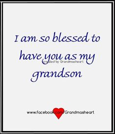 So Blessed.Jack, Thomas and Josh!Love you all. Grandson Birthday Quotes, Grandson Quotes, Quotes About Grandchildren, Birthday Verses, Grandma And Grandpa, Grandmother Quotes, General Quotes, Words To Describe, Love You