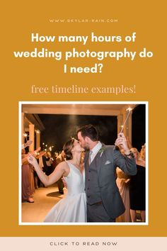 You're looking for a wedding photographer, but aren't sure how many hours of wedding photography coverage you might need. This blog post walks you through typical timing of a wedding day! You can download example timelines at the bottom of the post! Rain Photography, Wedding Photography, Spring Wedding, Wedding Day, Wedding Timeline Template, Reception Activities, Church Ceremony, Dance Photos, Brides And Bridesmaids