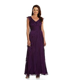 7/25/14  ordered 2 colors arriving 7/26/14  Adrianna Papell Tiered Gown #Dillards