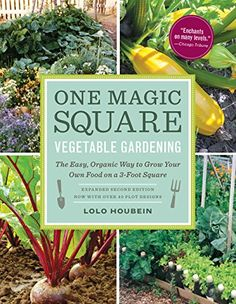 One Magic Square Vegetable Gardening The Easy Organic Way to Grow Your Own Food on a 3Foot Square >>> Learn more by visiting the image link.