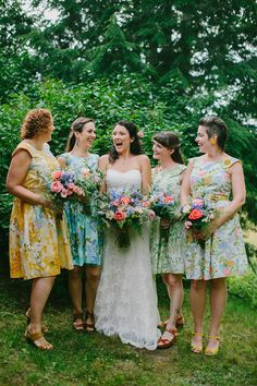 I'd have a different style bridesmaid dress but I really love his look!