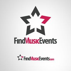 Logo Design for Find Music Events #LogoDesign