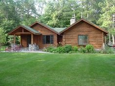 Charming Log Cabin on Whitefish ChainVacation Rental in Crosslake from @homeaway! #vacation #rental #travel #homeaway