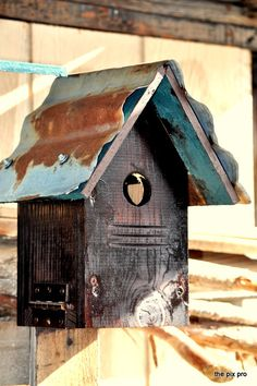 Shabby Chic Cabin for Two Blues by ThePixPro on Etsy, $65.95