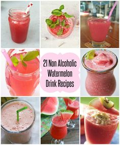 21 Non Alcoholic Watermelon Drink Recipes - Clean-Eating Recipes