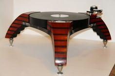 High end audio audiophile turntable JT3 Arcadia