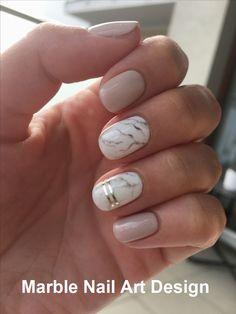 25 Marble Nail Design with Water & Nail Polish 2 - Nails Art Ideas Water Nails, Water Marble Nails, Marble Nail Designs, Gel Nail Designs, Nails Design, Short Nail Designs, Nagellack Design, Short Nails Art, Short Gel Nails