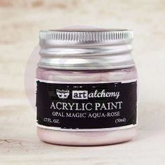 Art Alchemy: Acrylic Paint-Opal Magic Aqua-Rose 1.7oz