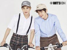 EXO、帽子専門マルチショップブランド「Hat's On」広告写真を公開