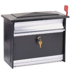 Solar Group MSK00000 Extra Large Security Wall Mount Locking Mailbox