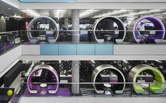 #Oficinas modernas.
