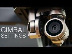 How To Adjust Gimbal Tilt And Speed Settings | DJI Mavic Pro - YouTube