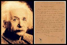 """Einstein: """"Dios creó el mundo con mucha elegancia e inteligencia""""  Subastan la carta donde Einstein afirma que Dios creó el mundo"""