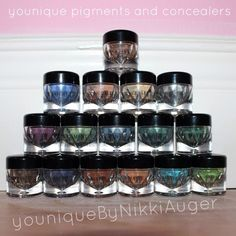 Younique Pigments, Mattes and Mineral Concealers