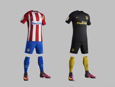 Camisas do Atlético de Madrid 2016-2017 Nike Chuteiras De Futebol 382f4837024bd