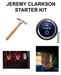 The Jeremy Clarkson Starter Kit
