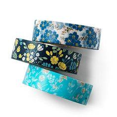 Washi tapes for bullet journaling. #bujo #bujoinpire #washi #tape #washitape #kids #diy #ad #summer #flowers
