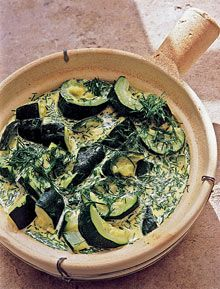 Nigel Slater's courgette recipes