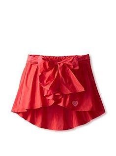 Miss Blumarine Kid's Skort with Front Bow (Red)