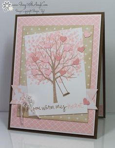Sheltering Tree in Pink! by amyk3868 - Cards and Paper Crafts at Splitcoaststampers