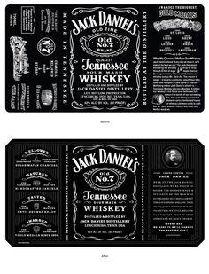 Jack Daniel's TennesseeWhiskey - The Dieline - The #1 Package Design Website -