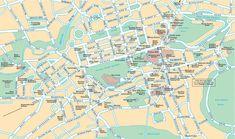 Mappa di Edimburgo - Cartina di Edimburgo