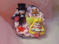 Kawaii Cute Decoden Sailor Moon Compact Mirror by Fangirl505 on Etsy