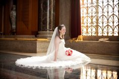 another favorite bridal at #baylor armstrong browning library