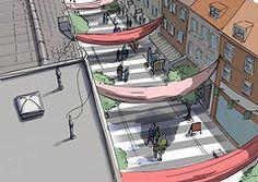 OEHMAN Design   ILLUSTRATIONER 1700 Festival in Aarhus  Made for Innovationlab