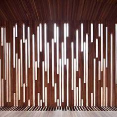 Resultado de imagen para slatted wood screens