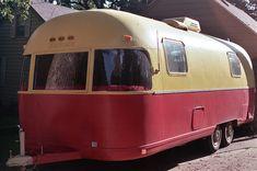 Vintage Argosy Motor Home, Fort Dodge, via Flickr.