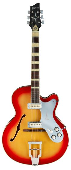 You can find a selection of FRAMUS GUITARS including this FRAMUS VINTAGE BILLY LORENTO FRO5120BILORJGV55 ELECTRIC GUITAR IN CHERRY SUNBURST at jsmartmusic.com