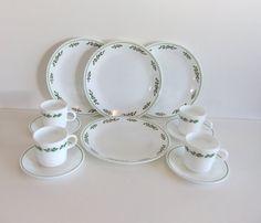 Corelle Christmas Dinnerware Set Corningware  sc 1 st  Pinterest & CORELLE CHRISTMAS HOLIDAY DINNERWARE