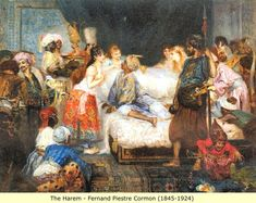 Arab and Berber (Moor) Paintings: Slaves and the Harem