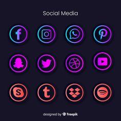Advanced Social Media, 80 Best Free Graphics on Freepik Social Media Banner, Social Media Icons, Social Media Search, Logo Facebook, Flower Background Wallpaper, Game Logo Design, Instagram Logo, Photoshop, Instagram Highlight Icons